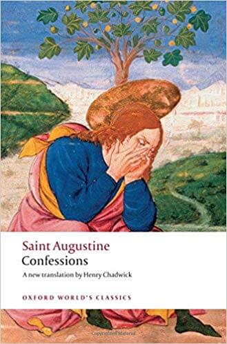 Saint Augustine Confessions book cover