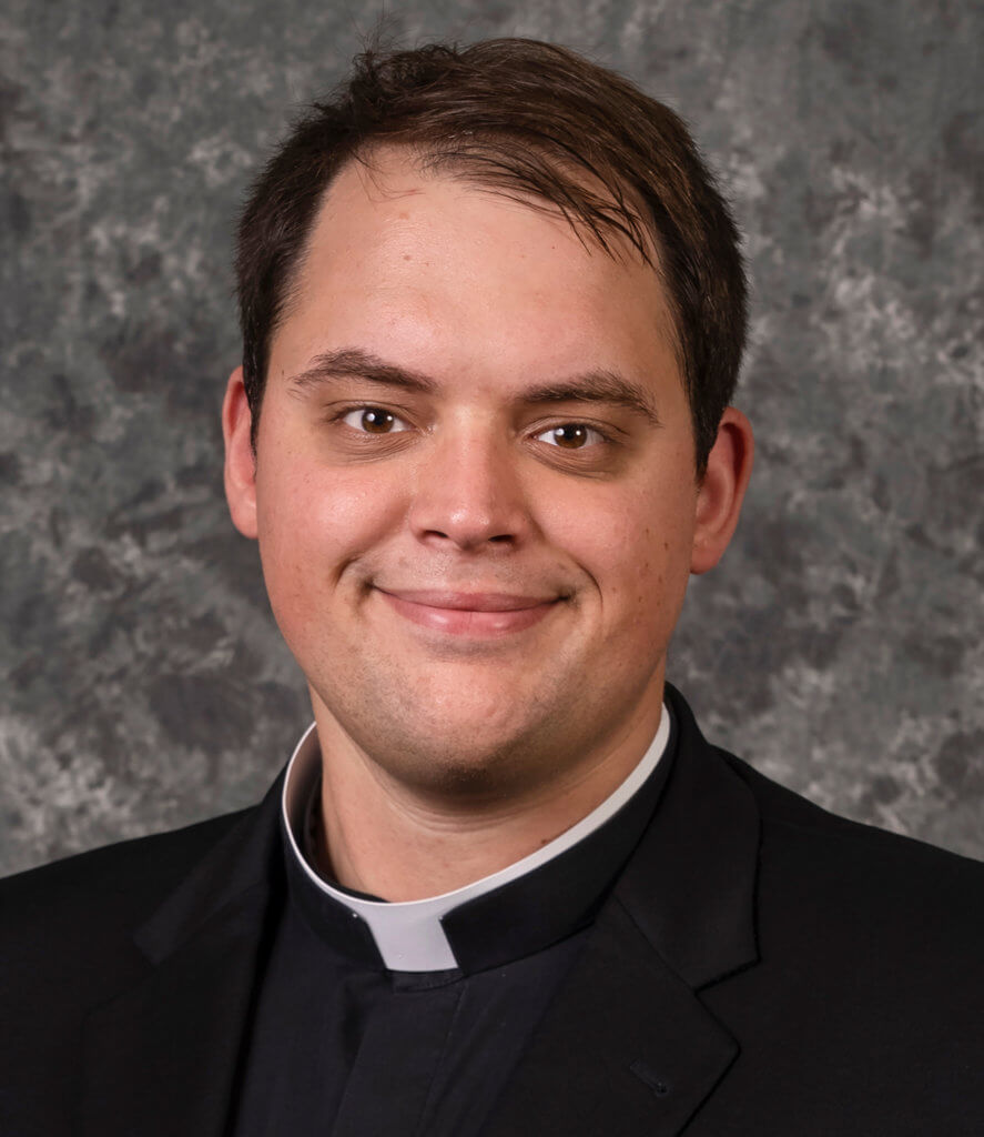 Seminarian Jacob Hahn