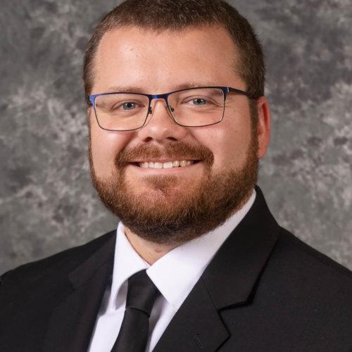 Seminarian Logan McGahan
