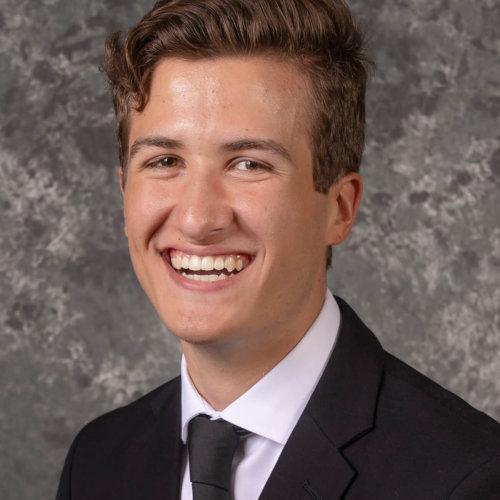 Seminarian Isaac Schneider